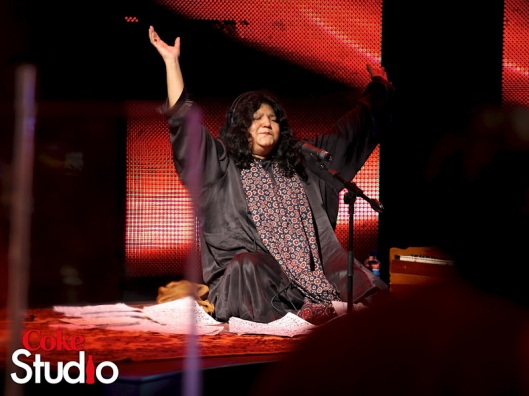 The Queen herself-Abida Parveen - photo borrowed from showbizalbum.blogspot.com