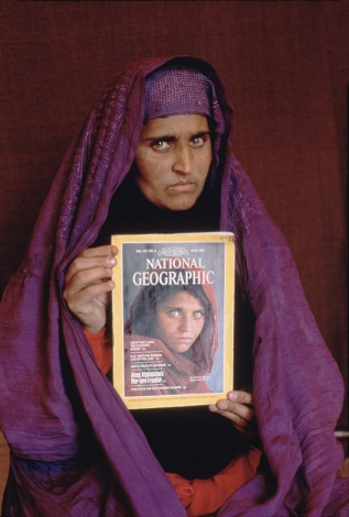 "NATIONAL GEOGRAPHIC VIDEO/DVD:""SEARCH FOR THE AFGHAN GIRL""© Steve McCurry"